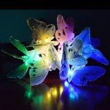 De zonne Lichten van het Koord van de Vlinder van de Vezel Optische