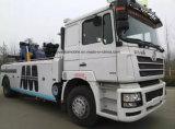 De Vrachtwagen van Wrecker van de Weg van het Slepende Voertuig 300HP van Shacman 4*2