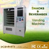 Máquina de Vending cheia da tela de toque da auto-avaliação para o café embalado