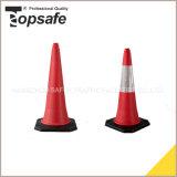 a borracha de 75cm ofereceu o cone do tráfego do PE