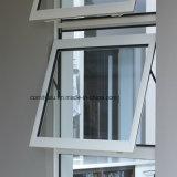 Profil en aluminium de pulvérisation de la poudre 6063t5 blanche pour le guichet d'oscillation
