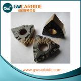 Ferramentas de estaca do carboneto de tungstênio, inserções do carboneto de tungstênio do CNC