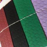 Geweven Ontwerp voor het Synthetische Pu Leer van Schoenen voor het Maken van Schoenen