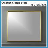 Glace argentée à couche double de miroir pour le miroir de mur/miroir de décoration