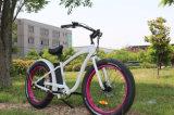 Bicyclette électrique de vente chaude de certificat de la CE avec la grosse option du pneu 36V/48V 350With500With750W