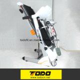 体操装置の折るトレッドミルによってモーターを備えられるトレッドミル