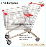 170L Estilo Europeo Carrito de Compras