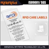 Etiqueta de la ropa RFID del rango largo de la frecuencia ultraelevada para el inventario