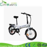 E-Bicicleta de dobramento da liga de alumínio com a bateria de lítio escondida