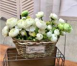 (BC-SF1011)普及したハンドメイドの自然なわらの花のバスケット