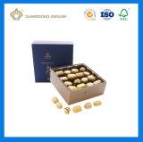 Установленная коробка высокого роскошного шикарного польностью черного шоколада ощупывания Matt упаковывая (с внутренней малой бумажной коробкой)