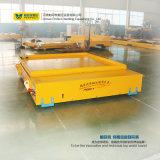 Vehículo motorizado eléctrico del cargamento del cargo del acoplado de la carretilla de la transferencia