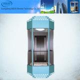 기계 룸 유리제 실내 관광 파노라마 엘리베이터