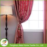 Недорогая спальня задрапировывают и занавесы занавесов красные сделанные по образцу