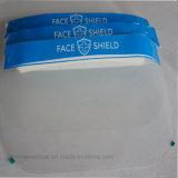 Ясная пластичная защитная маска предохранения от обеспеченностью