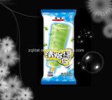 アイスクリームの粉袋か凍らされたコーヒープラスチック包装袋