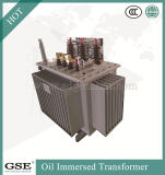 Tipo laminato a bagno d'olio a tre fasi trasformatore economizzatore d'energia Pieno-Sigillato distribuzione/di potere di memoria 10kv di S11 30-2500 KVA