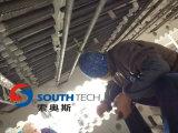 Comprimento de vidro da máquina de Southtech que dobra e que modera a fornalha