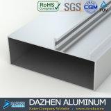 Profil en aluminium de porte coulissante de la Tanzanie avec la dimension personnalisée
