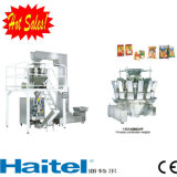 Máquina de embalagem vertical Full-Automatic para doces da embalagem, alimento, microplaquetas