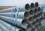 Tubulação de aço galvanizada mergulhada quente do uso da mobília Ss400