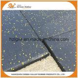 Tapis de sol en caoutchouc résistant aux chocs pour la halte de poids de l'aire de forage