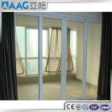 緩和された薄板にされたガラスが付いているアルミニウム滑走のテラスのドア