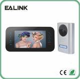 '' intercomunicador video video del timbre de la seguridad casera del teléfono de la puerta 7