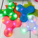 LED Bluetoothのスピーカー三指の回転上の復元指のおもちゃで構築されるを用いる落着きのなさの紡績工