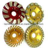 """4개의 """" 화강암을%s /105mm PCD 다이아몬드 컵 바퀴 가는 공구"""