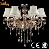 Nueva lámpara cristalina moderna de las lámparas de la suspensión del LED cristalino