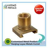 機械で造られる鋳造か黄銅および鋳造の部品