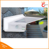 Impermeable IP65 35LED solar ligero de la pared del jardín de al aire libre con 3 indicadores LED