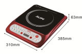 Modèle de table d'induction à bouton-poussoir à bouton-poussoir approuvé ET 1500 de 1500 W Modèle Sm-A59