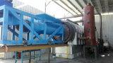 Asien-populäres verwendetes Gummireifen neues Pyrolisis AbfallverwertungsanlageGummireifen-Öl erhalten