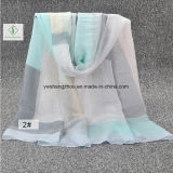 Neuer dickflüssiger Schal-verbindener Farbe gedruckter Form-Schal des Entwurfs-2017
