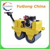 Rouleau de route de compacteur de rouleau vibrant de matériel de construction petit