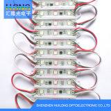 Éclairage LED de DC12V 0.72W, module de clignotement RVB de DEL