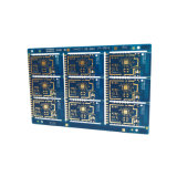 2 Schicht-grüner Tinten-gedrucktes Leiterplatte Schaltkarte-Prototyp