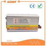 Инвертор Suoer 1000W Инвертор DC 24В 220В смарт Инвертор Солнечной переменного тока (SDA-1000B)