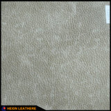 家具Hx-F1707のための総合的な革を支持するLycheeの穀物2.0mmポリエステル