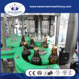 Machine de remplissage de bière pour le chapeau ouvert facile de bouteille en verre