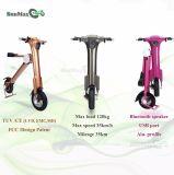 bici plegable eléctrica de la mini aprobación del Ce 500W