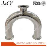 衛生Bpe 180度によって溶接されるUの肘の管付属品