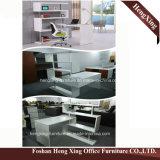 Hx-6m058 Mahogany ящики Lockable l стол цвета 3 офиса формы