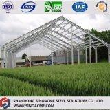 Мастерская здания портальной рамки стальная для обрабатывать земледелия