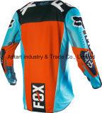 Свет - голубая новая модная изготовленный на заказ профессиональная сублимация участвуя в гонке Джерси (MAT55)
