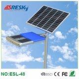 Éclairage extérieur solaire élevé de route de réverbère du lumen 48W DEL à vendre