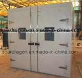 Doppelte Tür PU-Isolierungs-gehender Gefriermaschine-Raum mit Ansicht-Fenster