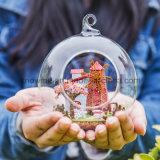 Nieuw het Assembleren van het Stuk speelgoed van het Ontwerp Houten Europees ModelPoppenhuis met Reis van de Gift van de Bal van het Glas de Beste naar Holland